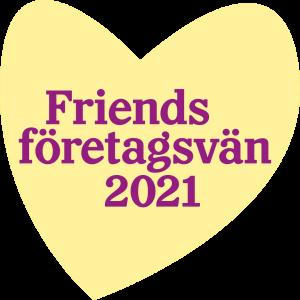 Friends logotype Företagsvän 2021