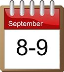 datum 8-9 september